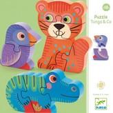Djeco Tunga & Co wooden puzzle