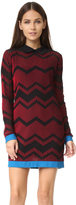 M Missoni Bicolor Zigzag Dress