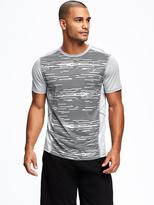 Old Navy Go-Dry Printed Performance Tee for Men