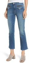 Mother Women's The Insider High Waist Crop Bootcut Jeans