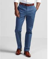 Express skinny innovator blue stretch cotton dress pant