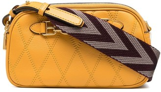 Bally Quilted Zip-Up Crossbody Bag