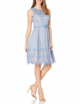 Brinker & Eliza Women's Lace Fit & Flare Dress