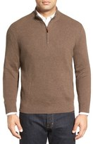 Nordstrom Cotton & Cashmere Rib Knit Sweater (Regular & Tall)