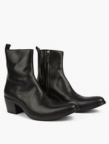 Haider Ackermann Black Leather Chelsea Boots