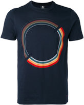 Paul Smith rainbow print T-shirt - men - Organic Cotton - S