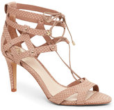Vince Camuto Mochaccino Claran Lace-Up High Heel Sandals