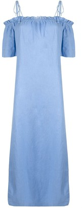 Venroy Off-The-Shoulder Maxi Dress