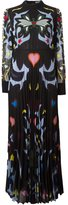 Mary Katrantzou graphic cowboy 'Mizar' dress - women - Polyester/Silk - 8