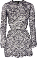 Alexis Deema cutout lace playsuit