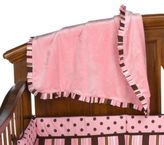 Trend Lab Maya Stripe Ruffle Blanket
