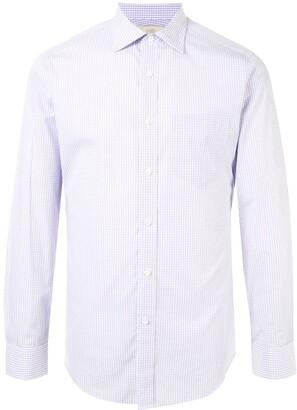 Kent & Curwen Check Long-Sleeve Shirt