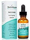 NutraNuva Face Food Anti Aging 20% Natural Vitamin C Serum, 1 fl. oz