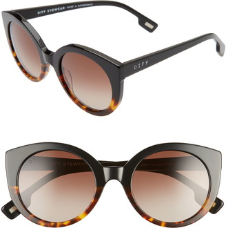 DIFF Emmy 50mm Cat Eye Sunglasses