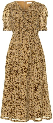 REJINA PYO Kristen cotton voile midi dress