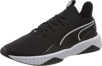 Puma Women's Defy New Core WN's Indoor Sneakers Black Black White 01 6 UK 39 EU