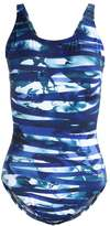 Arena SHIRLEY U BACK Swimsuit blue/white