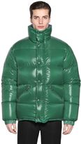 Moncler Dejan Shiny Nylon Down Jacket