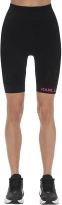 Karl Lagerfeld Paris Rue S Guillaume Jersey Biker Shorts