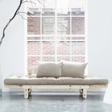 Fresh Futon Beat Natural With Natural Frame