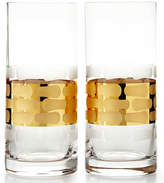 Michael Wainwright Truro Gold Highballs, Set of 2