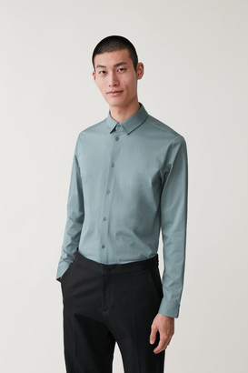 Cos Cotton Jersey Shirt