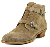 Franco Sarto L-rynn Round Toe Suede Ankle Boot.