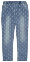 George Bunny Rabbit Print Jeggings