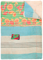 Found Object One of a Kind Kantha Throw