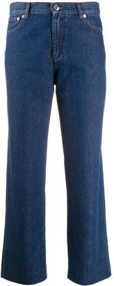 A.P.C. New Sailor high-waist straight jeans