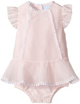 Lanvin Kids Bodysuit w/ Dress Overlay (Infant)