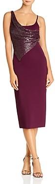 Cushnie Embellished Sleeveless Midi Dress