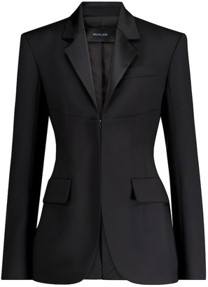 Thierry Mugler Virgin wool blazer
