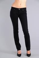 Paige Premium Denim Blue Heights Skinny Jeans in Black