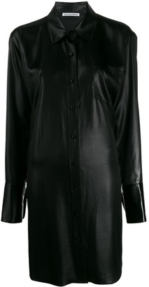 Alexander Wang Oversized Shirt Dress