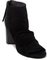 Seychelles Black Tie Peep Toe Ankle Boot