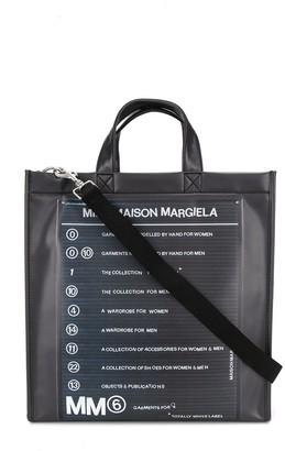 MM6 MAISON MARGIELA Logo Print Tote