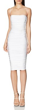 Nookie Cooper Ruched Bodycon Midi Dress