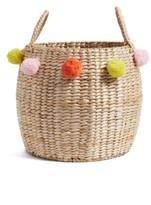 Levtex Pompom Wicker Basket