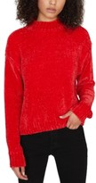 Sanctuary Chenille Mock-Neck Sweater