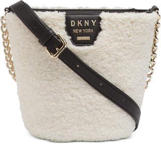 DKNY Shane Sherpa Bucket Bag