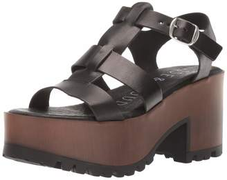 Musse & Cloud Women's Dido Heeled Sandal Nubuck 36 Medium EU (5-5.5 US)