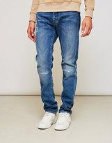 Edwin ED-80, Slim Tapered, Broken Wash Jeans