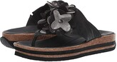 Think! Zega - 84381 (Black/Kombi) Women's Sandals