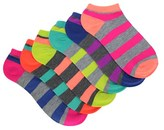 Famous Footwear 6 Pack Women's No Show Socks
