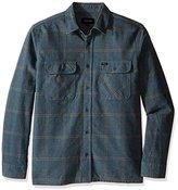 Brixton Men's Archie Long Sleeve Flannel Shirt