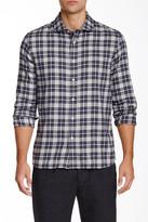 Slate & Stone Plaid Long Sleeve Slim Fit Shirt