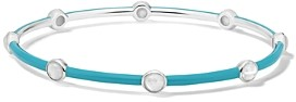 Ippolita Lollipop Mother-Of-Pearl Aquamarine Carnevale Bangle Bracelet