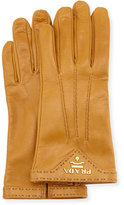 Prada Napa Leather Gloves, Camel