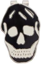 Alexander McQueen Black Skull Money Clip